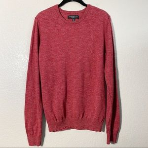 Aeropostale Rusty Red Exposed Seam Sweater Md